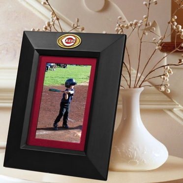 Cincinnati Reds BLACK Portrait Picture Frame