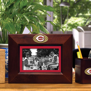 Cincinnati Reds BROWN Landscape Picture Frame