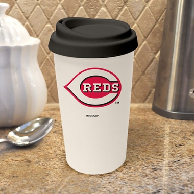 Cincinnati Reds Ceramic Travel Cup