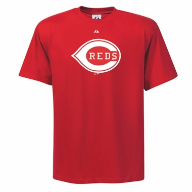 Cincinnati Reds Cooperstown Logo T-Shirt - Medium