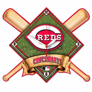 Cincinnati Reds High Definition Wall Clock