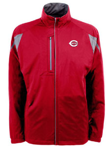 Cincinnati Reds Mens Highland Water Resistant Jacket (Team Color: Red) - Small