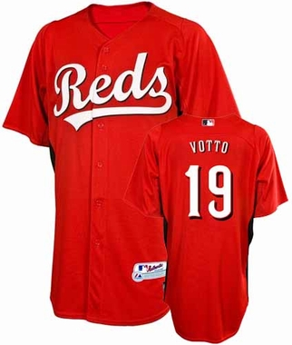 Cincinnati Reds Joey Votto YOUTH Batting Practice Jersey
