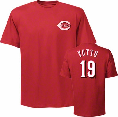 Cincinnati Reds Joey Votto YOUTH Name and Number T-Shirt