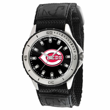 Cincinnati Reds Mens Veteran Watch