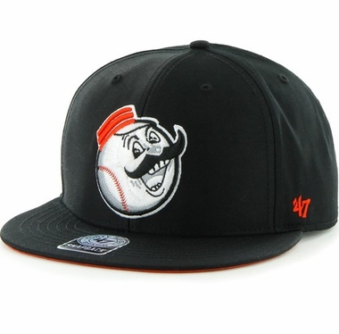 Cincinnati Reds MLB 47 Brand Two Tone Maxim Neon Snap Back Hat