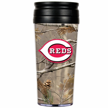 Cincinnati Reds Open Field Acrylic Travel Tumbler