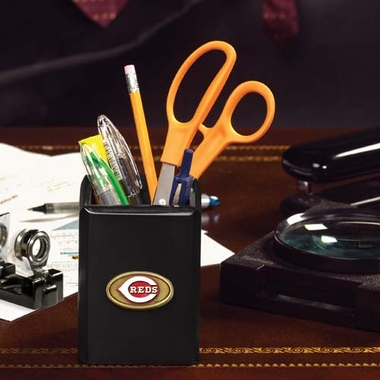 Cincinnati Reds Pencil Holder (Black)