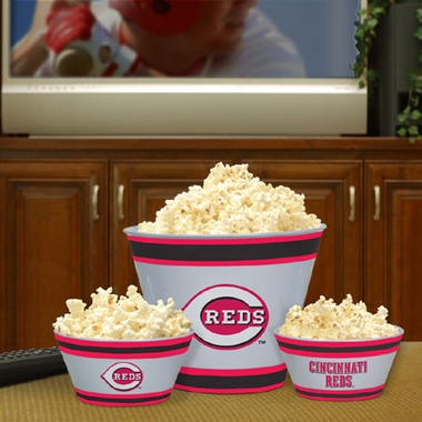 Cincinnati Reds Plastic Serving Set