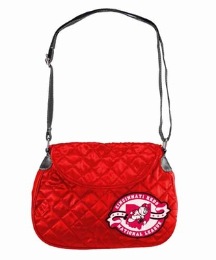 Cincinnati Reds Quilted Saddlebag