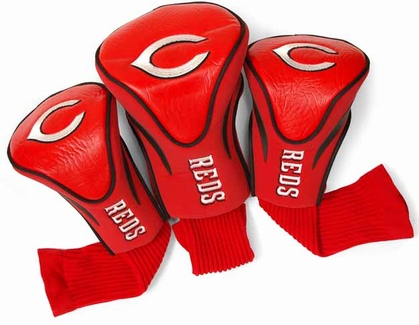 Cincinnati Reds Set of Three Contour Headcovers