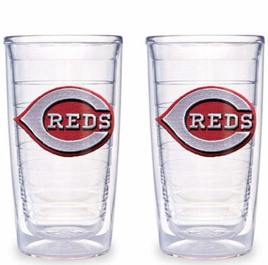 Cincinnati Reds Set of TWO 16 oz. Tervis Tumblers