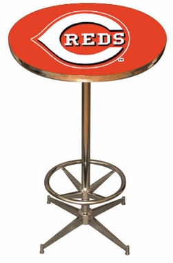 Cincinnati Reds Team Pub Table
