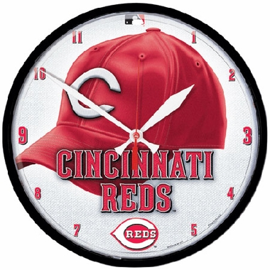 Cincinnati Reds Wall Clock