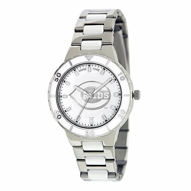 Cincinnati Reds Women's Pearl Watch
