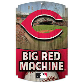 Cincinnati Reds Wood Sign - Big Red Machine