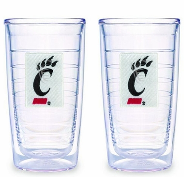 Cincinnati Set of TWO 16 oz. Tervis Tumblers