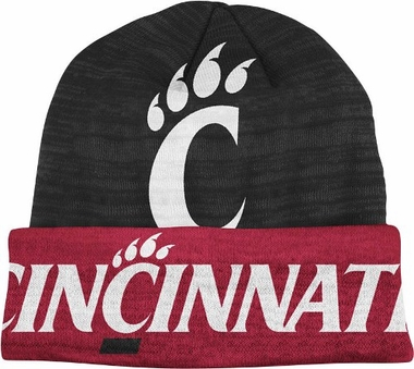 Cincinnati Slanted Logo Cuffed Knit Hat