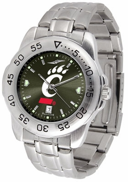 Cincinnati Sport Anonized Men's Steel Band Watch
