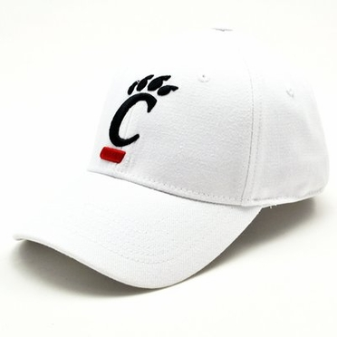 Cincinnati White Premium FlexFit Hat