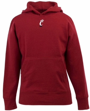 Cincinnati YOUTH Boys Signature Hooded Sweatshirt (Team Color: Red)