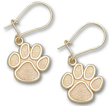 Clemson 10K Gold Post or Dangle Earrings
