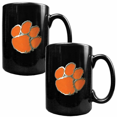 Clemson 2 Piece Coffee Mug Set