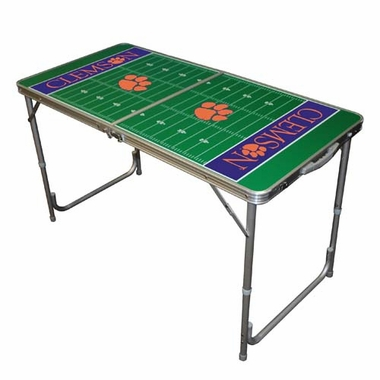 Clemson 2 x 4 Foot Tailgate Table