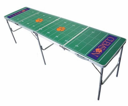 Clemson 2x8 Tailgate Table