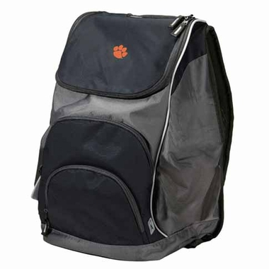 Clemson Action Backpack (Color: Black)