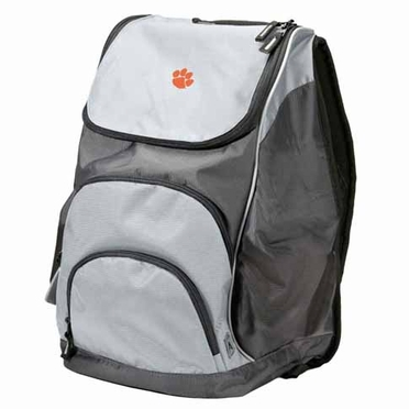 Clemson Action Backpack (Color: Grey)