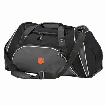 Clemson Action Duffle (Color: Black)