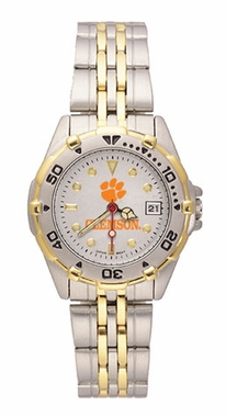Clemson All Star Womens (Steel Band) Watch