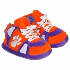 Clemson Baby Slippers