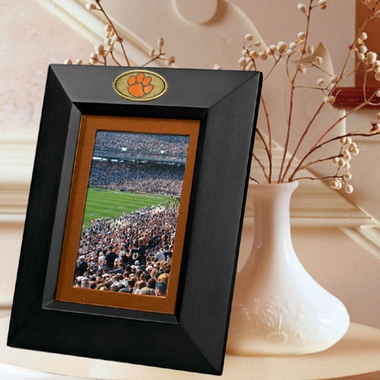 Clemson BLACK Portrait Picture Frame