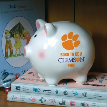 Clemson (Born to Be) Piggy Bank