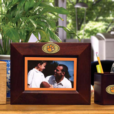 Clemson BROWN Landscape Picture Frame