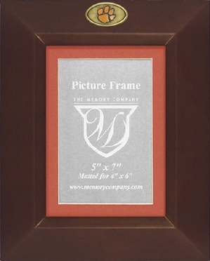 Clemson BROWN Portrait Picture Frame