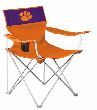 Clemson Canvas Adult Folding Logo Chair