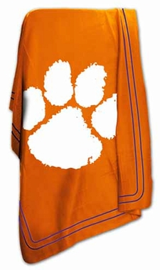 Clemson Classic Fleece Throw Blanket