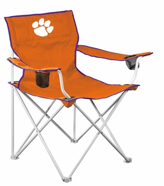 Clemson Deluxe Adult Folding Logo Chair