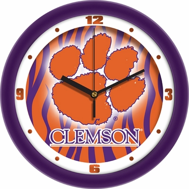 Clemson Dimension Wall Clock