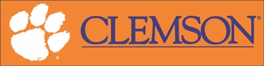 Clemson Eight Foot Banner