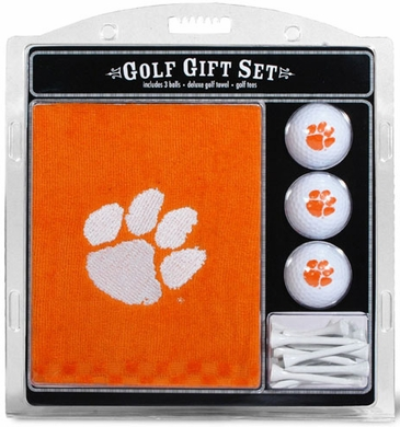 Clemson Embroidered Towel Gift Set