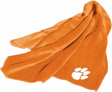 Clemson Fleece Throw Blanket