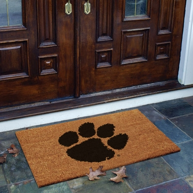 Clemson Flocked Coir Doormat
