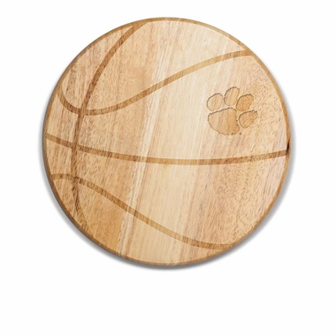 Clemson Free Throw Cutting Board