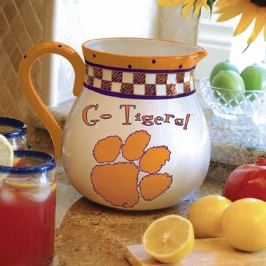 Clemson Gameday Ceramic Pitcher