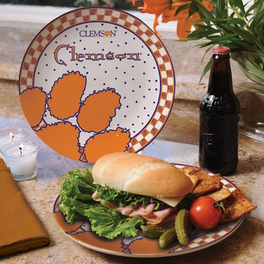 Clemson Gameday Ceramic Plate