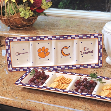Clemson Gameday Relish Tray